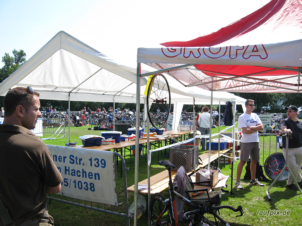 Möhnesee Triathlon 2007 - 1