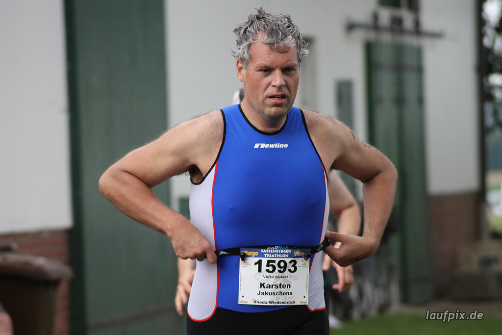 Sassenberger Triathlon - Run 2011 - 193