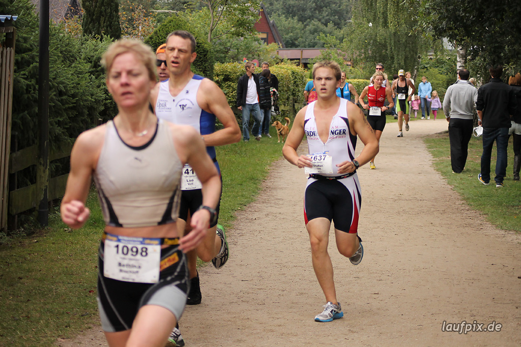 Sassenberger Triathlon - Run 2011 Foto (442)