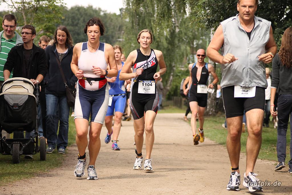 Sassenberger Triathlon - Run 2011 - 510