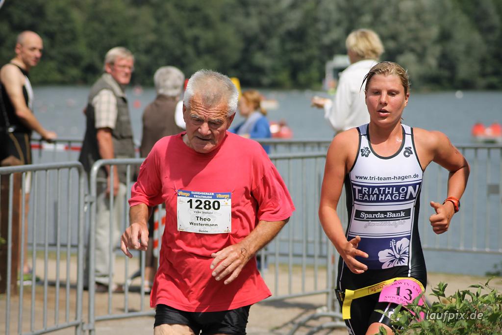 Sassenberger Triathlon - Run 2011 Foto (965)