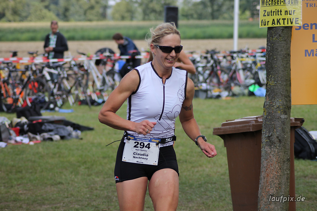 Sassenberger Triathlon - Run 2011 - 1012